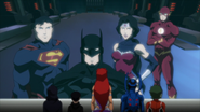 Justice League & The Titans JLvsTT