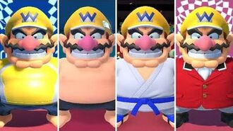 Mario & Sonic at the Olympic Games Tokyo 2020 - All Wario Outfits
