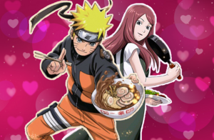 Naruto and Kushina Card 1