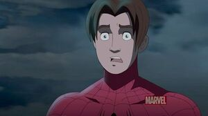 Shocked spidey