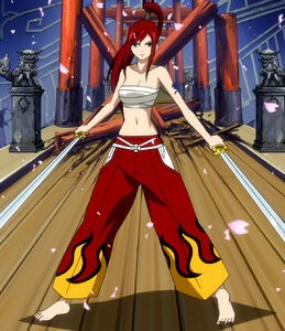 Erza's Clear Heart Clothing