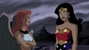 Hawkgirl and Wonder Woman