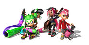 Octo Expansion multiplayer Inkling versus Octoling