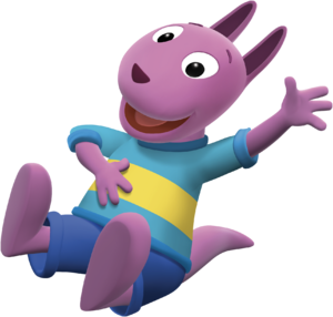 The Backyardigans Austin Laughing Nickelodeon Nick Jr. Character Image