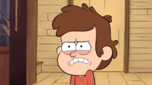 Dipper angry