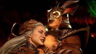 Mortal Kombat 11 Aftermath Sindel & Shao Kahn Romance (All Sindel Scenes)