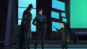 Son of Batman - Batman, Nightwing and Damian