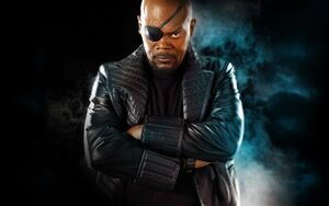 95313-Samuel L. Jackson-Nick Fury-eyepatches-arms crossed-Captain America The Winter Soldier-arms on chest-angry
