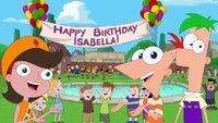 El Cumpleaños de Isabella se revela