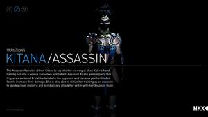 Kitana Assassin Variation