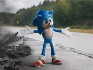 Sonic movie redesigned