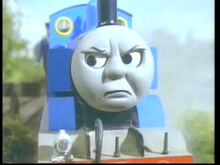 Thomas angry closeup repeated - Conductor Left Behind - jp official - by nicozon