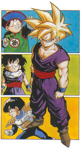 Gohan, all depictions, 2014