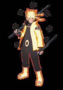 Naruto with Rikudō Sennin Mōdo
