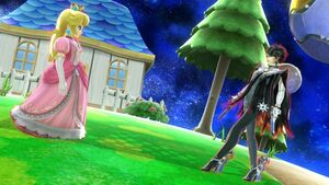 Princess peach and bayonetta by user15432-daj6ffo