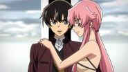 Yuno and Yukiteru 2