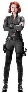 Black Widow full body marvel 2012