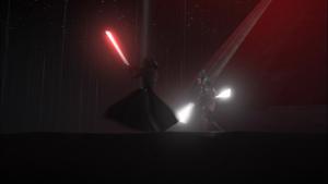 Darth Vader twirling