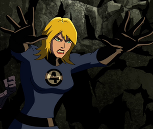 Invisible Woman avengers