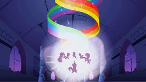 Main 6 ponies rainbow beam S1E2