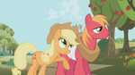 830px-Applejack and Big Mac S1E04