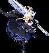 Es (BlazBlue Cross Tag Battle, Character Select Artwork)