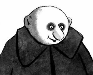 Fester Addams Comic