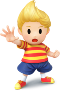 Lucas Artwork - Super Smash Bros. per Nintendo 3DS e Wii U