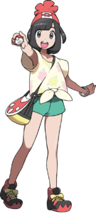 Sun Moon Protagonist female