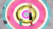 Doofenshmirtz y Perry bailando 4