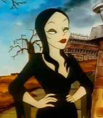 Morticia Cartoon