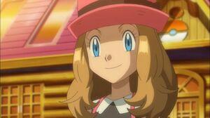 Serena's warm smile to Ash