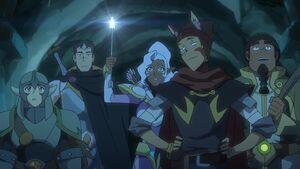 VLD - Pidge, Shiro, Allura, Lance and Hunk