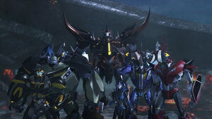 4 Autobots, Knock Out, & 3 Predacons