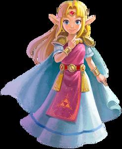 Princess Zelda (A Link Between Worlds)