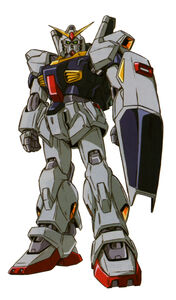 RX-178 - Gundam Mk-II (AEUG Colors) - Front View