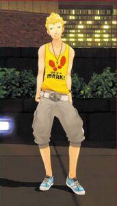 Ryuji Sakamoto- Summer Outfit