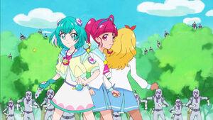 STPC05 Lala and Elena join Hikaru