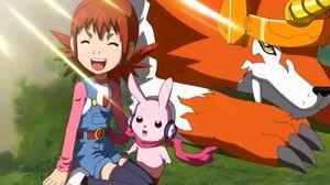 Akari, Cutemon y Dorulumon - Opening