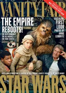 The Force Awakens Vanity Fair Cover