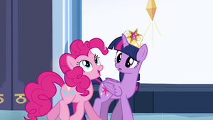 Pinkie Pie guessing the truth EG