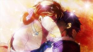 Jonathan and Erina's last kiss
