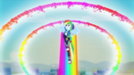 Rainbow Dash doing a double rainboom EGDS42