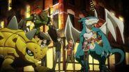 02 DigiDestinds, Hawkmon and Champion Digimons
