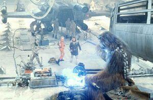 Chewbacca repairman