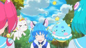 STPC41 Yuni is embarrassed