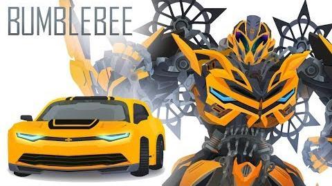 BUMBLEBEE(2014 Camaro Concept) - Short Flash Transformers Series
