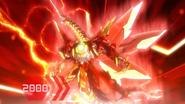 Drago evolved into Drago Maximus