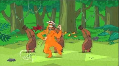 En El Trasero Un Dardo Me Dio - Phineas y Ferb HD