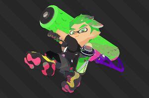 Splat2n Inkling Boy Roller
